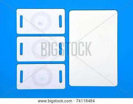 White Rfid Cards