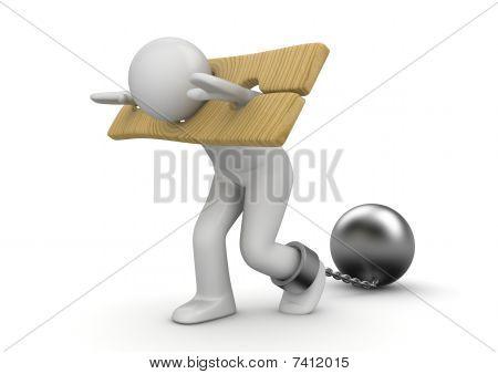 Escravo em manilhas