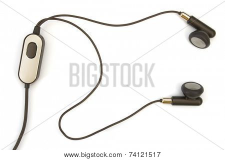 Headset (hands free), isolated on white background