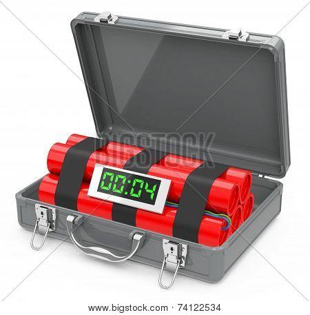 the suitcase bomb