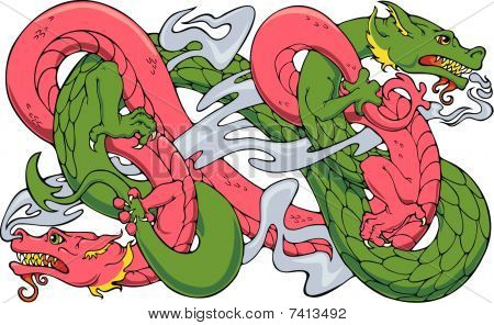 Wrestling Dragons
