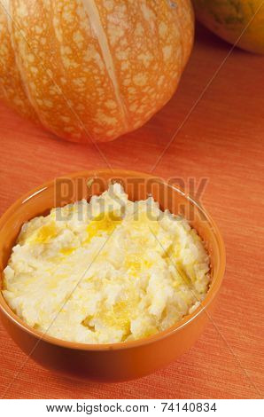 Rice Kasha With Pumpkin