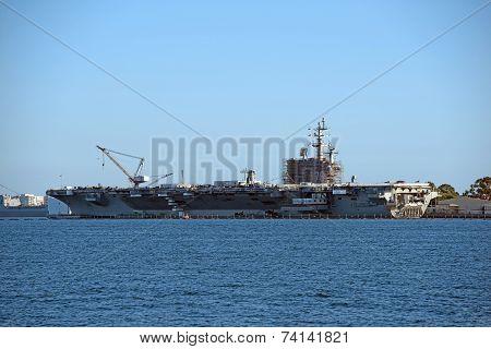 Aircraft Carrier Building