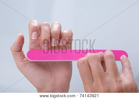 Hands And Nail File