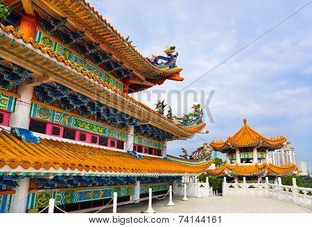 Thean Hou Temple in Kuala Lumpur Malaysia