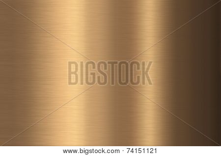 Bronze metal background.