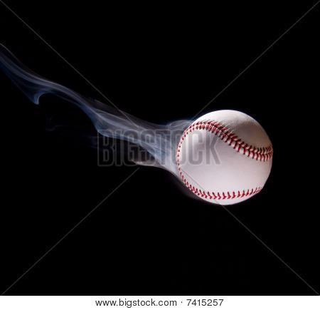 Thrown Baseball