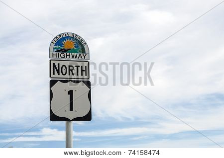Road Sign in Florida
