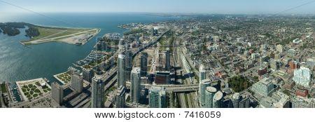 Toronto city panorama