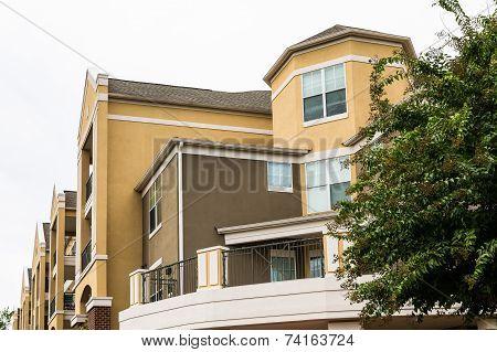 Modern Brown Plaster Condos