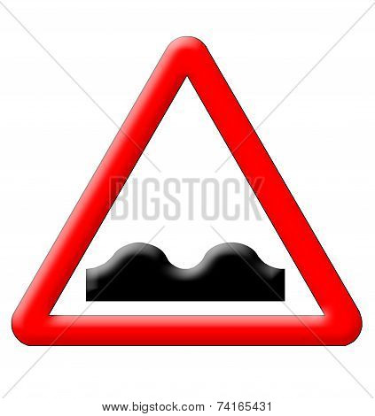 Bumps Traffic Sign