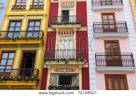 Valencia Spain architecture - travel background