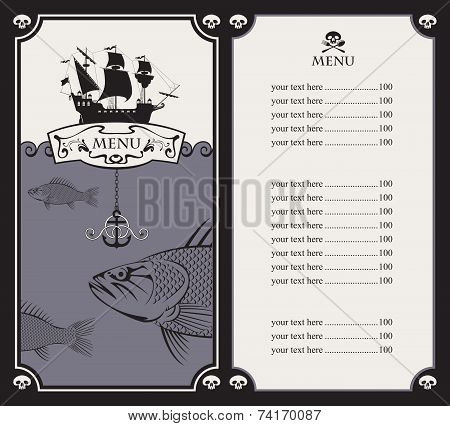 Sailboat and a fish
