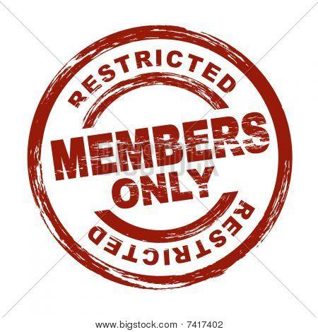 Apenas membros