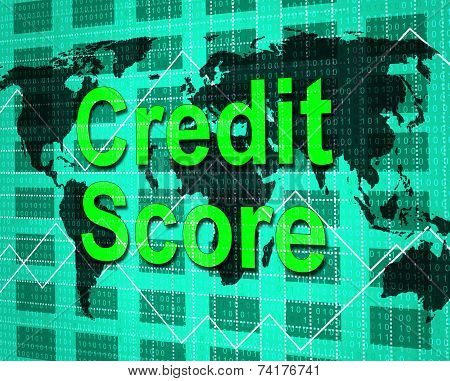 Credit Score Means Debit Card And Bankcard