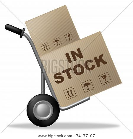 In Stock Means Carton Logistic And Box