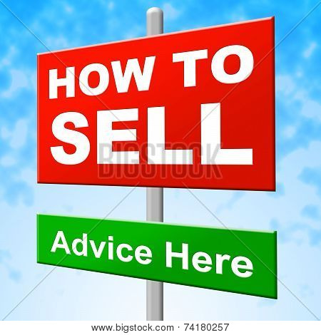 How To Sell Shows House For Sale And Message
