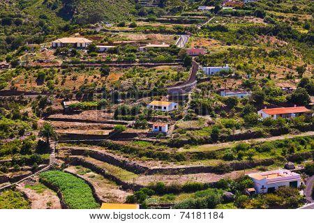 Road in La Gomera island - Canary Spain