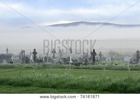 Fog Rolling Towards The Graveyard