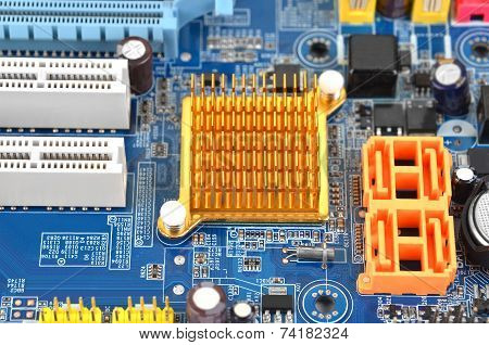 Computer motherboard board
