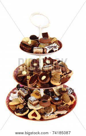 Czech Christmas Cookies Isolated