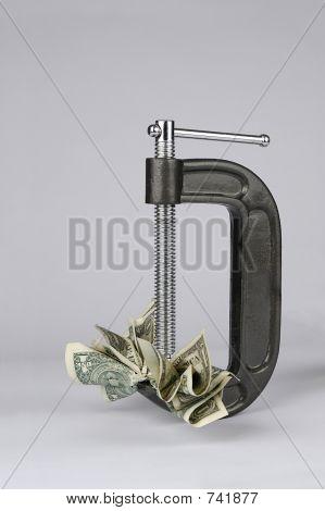 Contracción del dinero