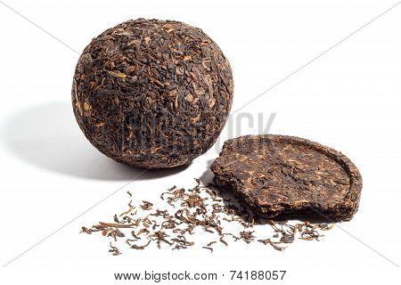 formed Pu-erh tea