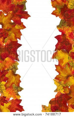 Autumn Leaf Stripe 6 Background