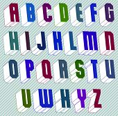 image of verbs  - 3d font with good style - JPG