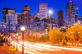 image of commutator  - Denver Evening Traffic  - JPG