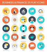 picture of payment methods  - Abstract vector collection of colorful flat business and finance icons - JPG