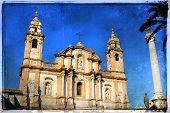 pic of domination  - Church of Saint Dominic in Palermo Italy - JPG