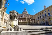 foto of shame  - Palermo Piazza Pretoria also known as the Square of Shame Piazza della vergogna - JPG
