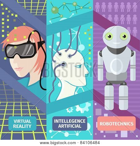 Artificial intelligence, reality virtual and robotechnics