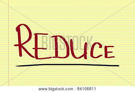 Reduce Concept