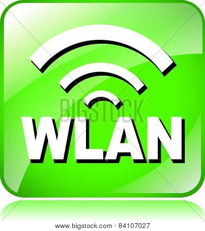 Green Wlan Icon
