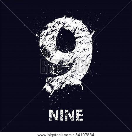 Grunge number nine