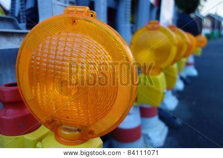 Orange Warning Lights