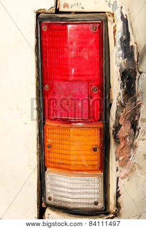 Old Car Tail Light
