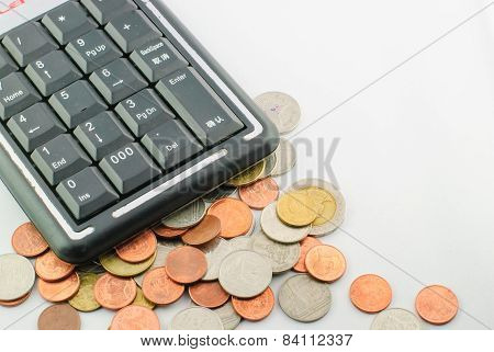 Thai Coins And Calculator