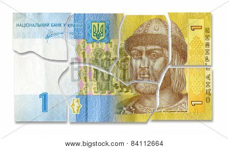 Financial Crisis In Ukraine.  Broken Money - Ukrainian Hryvnia