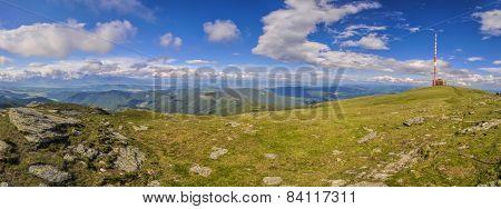 Radio Mast In Low Tatras
