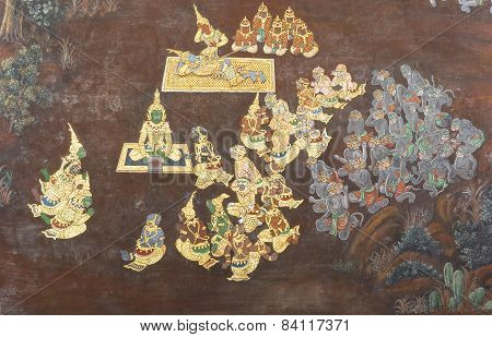 Temple Of The Emerald Buddha Wall Art