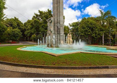 Santa Cruz Fountain