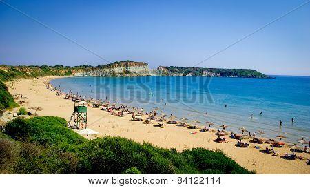 Gerakas Beach Zakynthos Island, Greece.