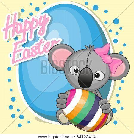 Koala With Egg