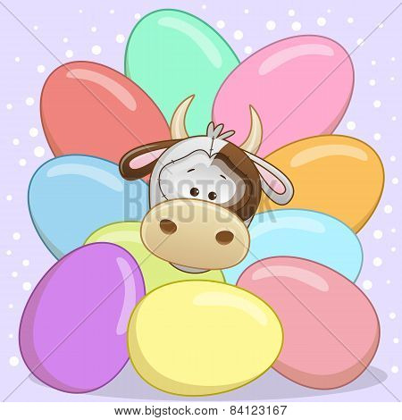 Cow With Eggs