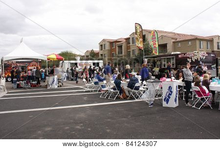 Block Party in Queen Creek Arizona