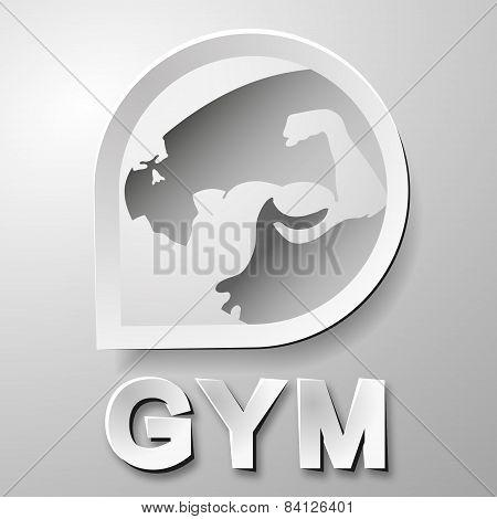 Gym symbol