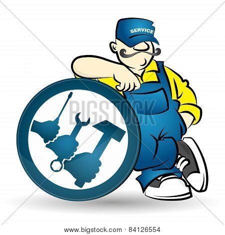 Repairman vector
